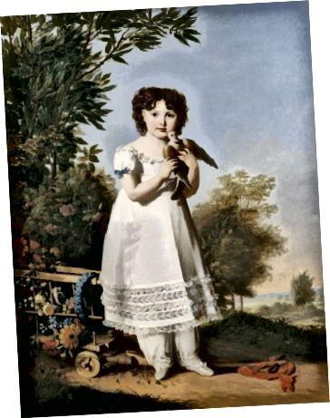 O fată care poartă pantalete