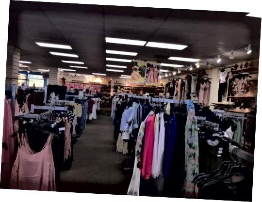 ცისარტყელის ტანსაცმლის მაღაზია ჯექსონვილში, FL
