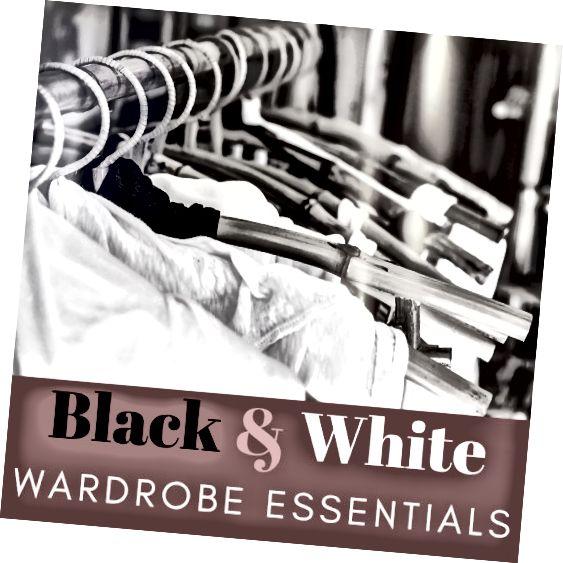 Základy černé a bílé skříně