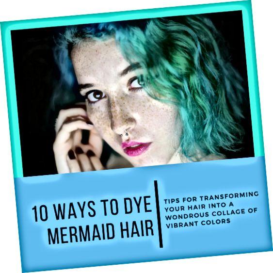 در این مقاله 10 نوع مختلف از موهای پری دریایی و چگونه می توانید در مورد رنگ کردن موهای خود پیش بروید تا مانند آنها به نظر برسید.