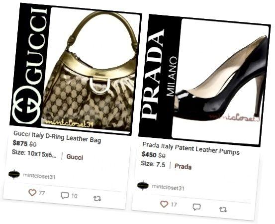 Marques de luxe d'occasion à vendre sur Poshmark