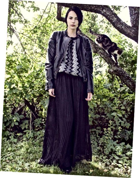 Τι να φορέσετε με μια φούστα maxi