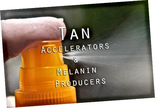 Tan Accelerators και Melanin Producers
