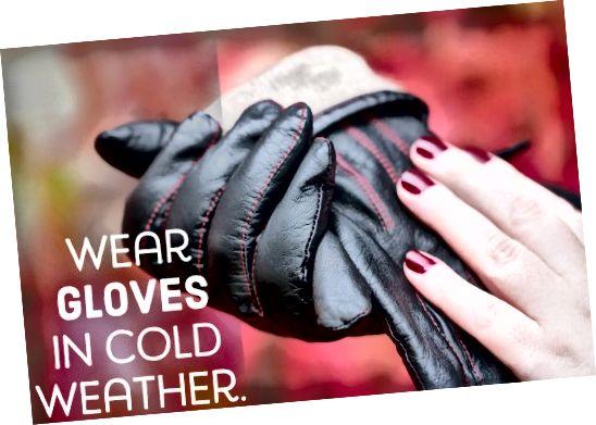 Запамтите, рукавице су најбољи пријатељ ноктију!