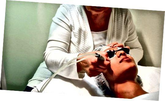 مدیریت یک درمان پوستی