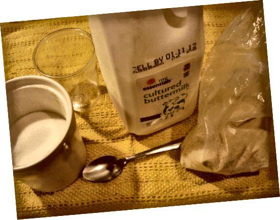 Ingredience pro domácí peeling obličeje