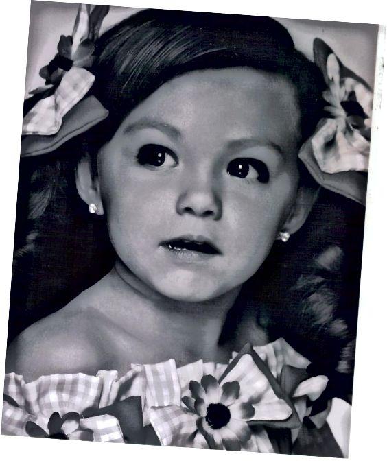 Moja najstarejša vnukinja ljubi lepotna tekmovanja, njena sestra pa ne.