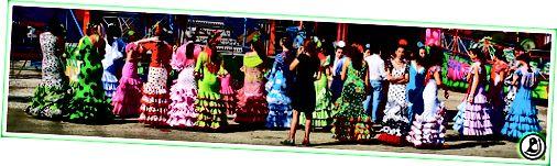 Sevillská férová móda teď.