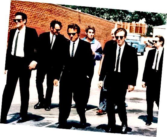 Reservoir Dogs: Κουνώντας το vintage κοκαλιάρικο γραβάτα