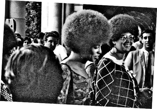 V roce 1969 měla Angela Davis účes Afro.