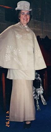 1889: Going Away Outfit - Jacheta călătorie din lână - brodată în mătase