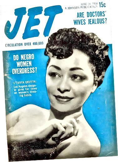 L'Tanya Griffin στο εξώφυλλο του περιοδικού