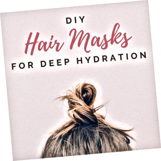 डीप-कंडीशनिंग मास्क बालों को स्वस्थ रखने के लिए महत्वपूर्ण हैं, खासकर यदि आप अक्सर ब्लीच, रंग, या इसे कर्ल करते हैं।
