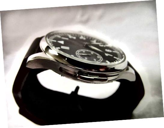 Σημειώστε τον διακοσμητικό συρόμενο διακόπτη του Unbranded Parnis Mechanical Watch με το Seagull 6497 Movement