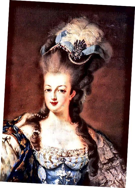 Μαρία Αντουανέττα.