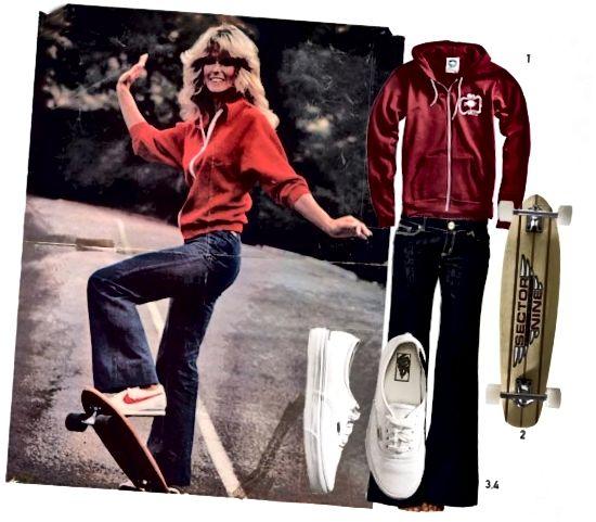 Farrah Fawcett '70er Stil