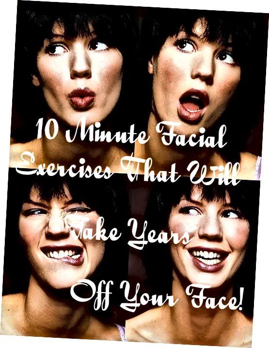 Ćwicz mimikę twarzy, aby zachować młody wygląd skóry.