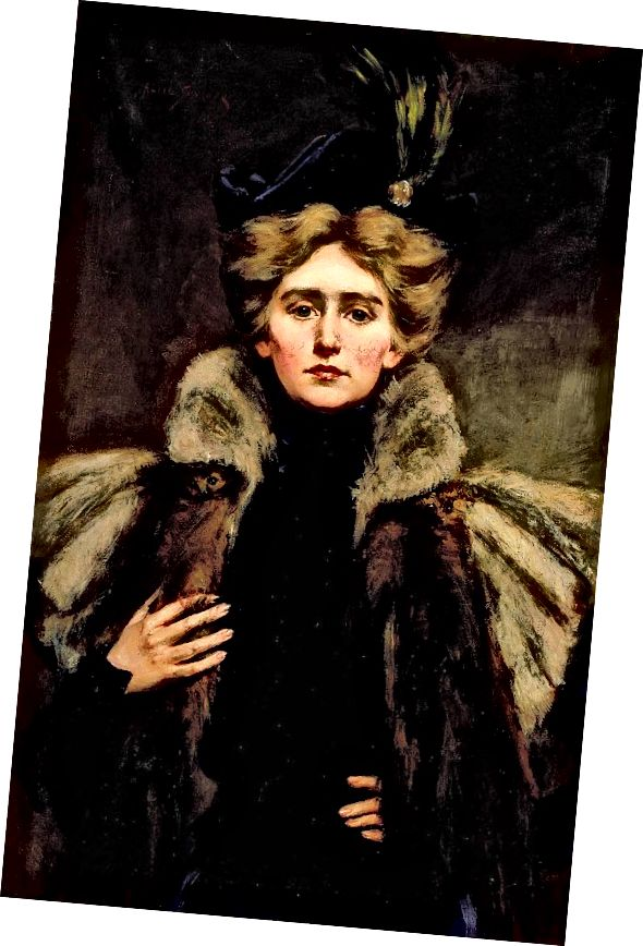 ناتالی بارنی در سال 1896