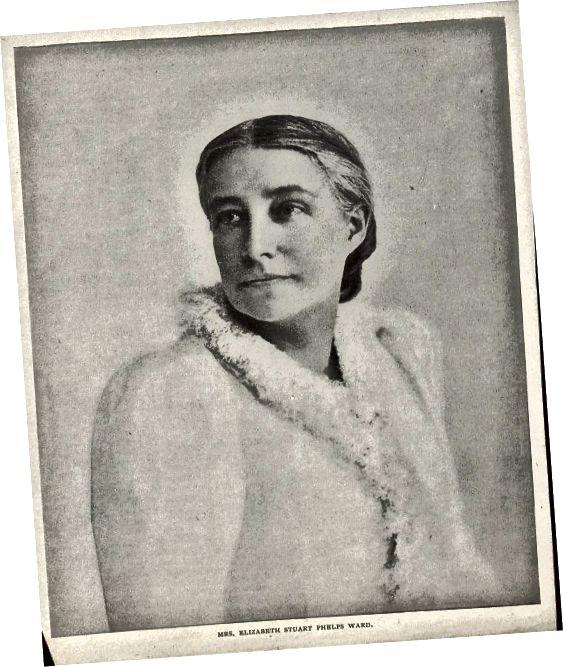 Elizabeth Stuart Phelps Ward. (MSS 6997-ε. Βιβλιοθήκη αμερικανικής λογοτεχνίας Clifton Waller Barrett. Εικόνα από την Petrina Jackson)