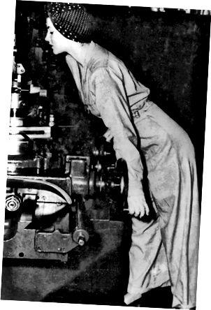 1942 φωτογραφία του Geraldine Hoff.