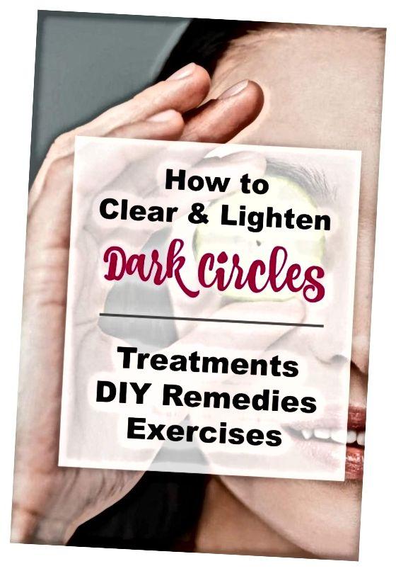 प्राकृतिक उपचार के साथ अपनी आंखों के नीचे काले घेरे कैसे हटाएं।