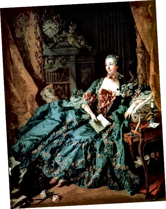 Κυρία Πομπαντούρ, 1756