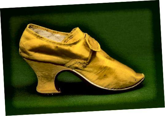 Παπούτσι, γύρω στο 1760