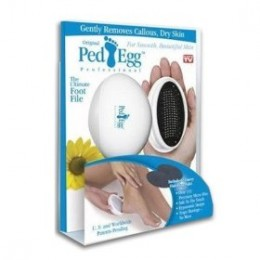 ເຖິງແມ່ນວ່າມັນບໍ່ແມ່ນຫີນປັ່ນ ທຳ ມະຊາດກໍ່ຕາມ, ແຕ່ວ່າ Ped Egg Pedicure Foot File ຍັງມີຄວາມນິຍົມແລະຍັງສາມາດປະຕິບັດໄດ້ຢ່າງມີປະສິດຕິຜົນ.