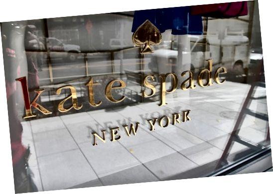 New York trgovina Kate Spade