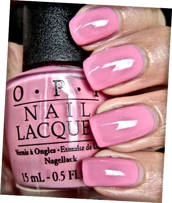"""OPI Chic je """"Chic from Ears To Tail""""."""