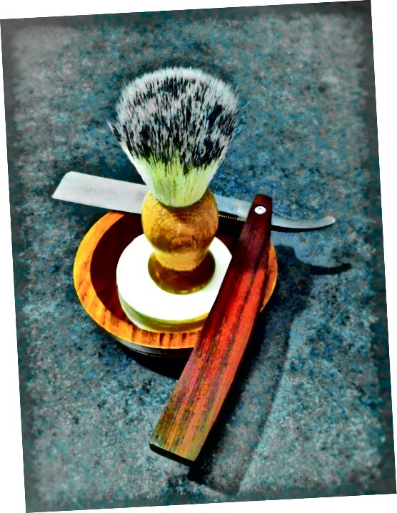 კლასიკური Straight-Razor Accoutrements
