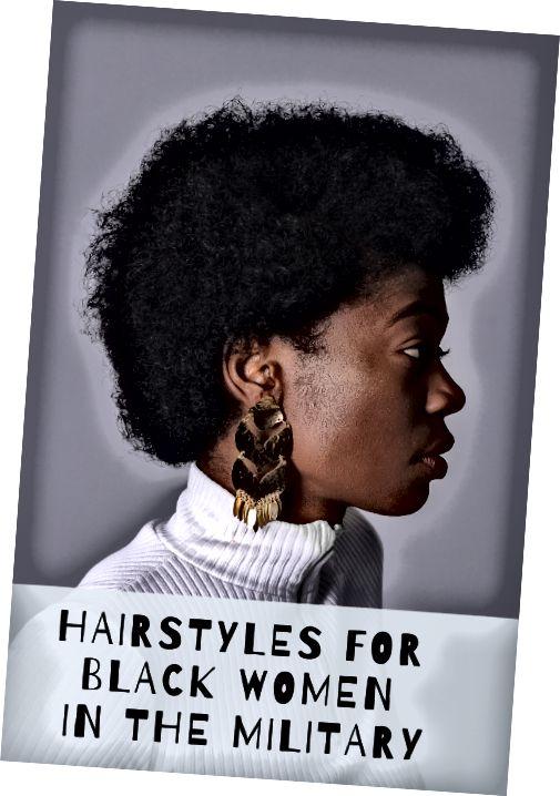 Τα μικρά αφρο είναι μια εξαιρετική επιλογή για τις μαύρες γυναίκες στο στρατό.
