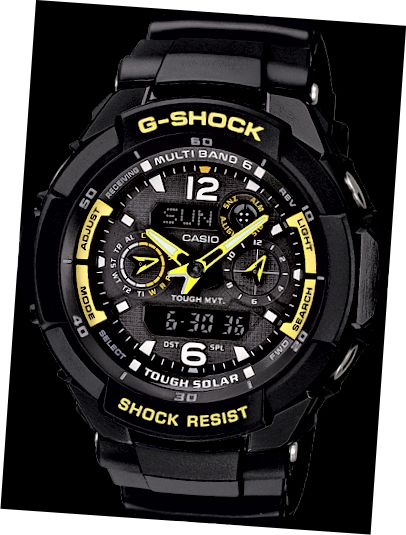 Το GW3500B-1A είναι το ελαφρύτερο ρολόι στο Aviation Range.