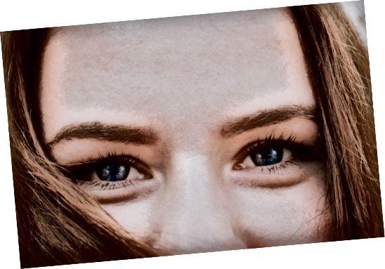 ženské oči
