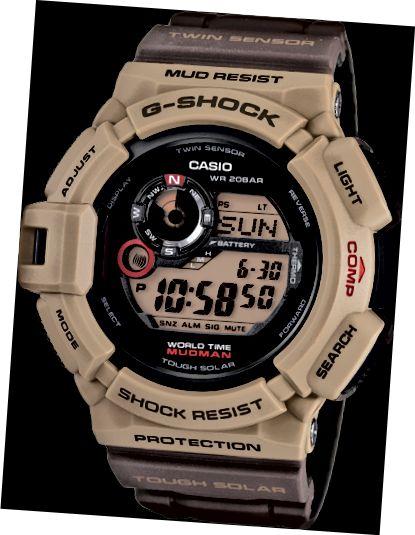 Το G9300er-5 είναι τέσσερα διαφορετικά στυλ ρολογιού σε ένα.