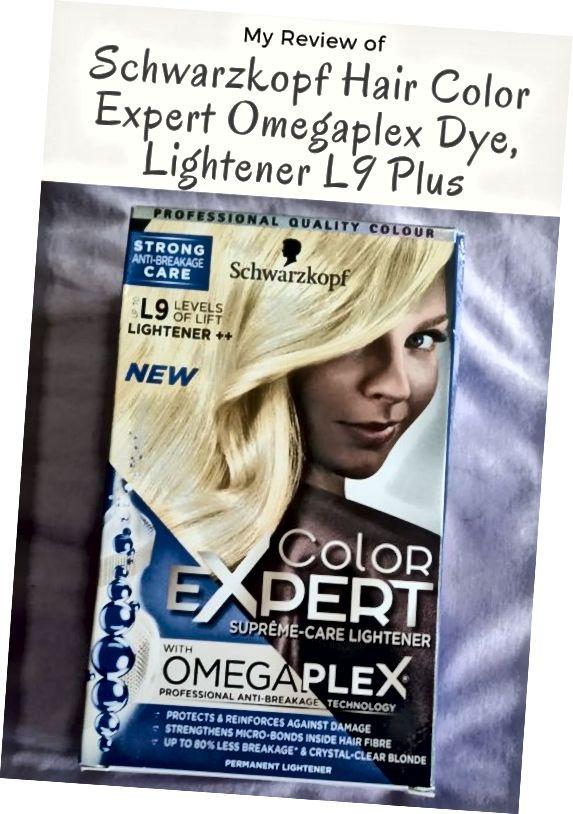 Η κριτική μου για το Schwarzkopf Hair Color Expert Omegaplex Dye, Lightener L9 Plus