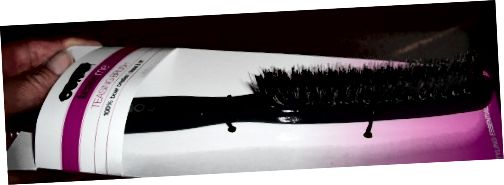 Οι στενές βούρτσες μαλλιών χρησιμοποιούνται για την οπισθοδρόμηση.
