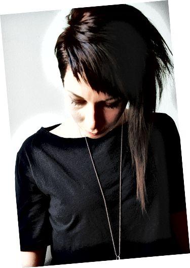 Асиметричне волосся.