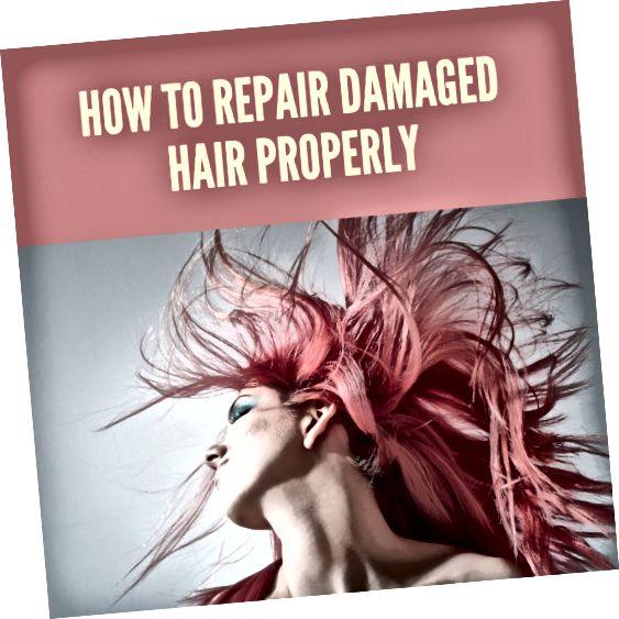 Čtěte dále a dozvíte se, jak opravit poškozené vlasy.