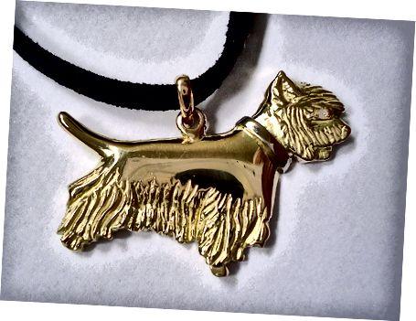 Příklad šperků vyrobených technikou lití ztraceného vosku