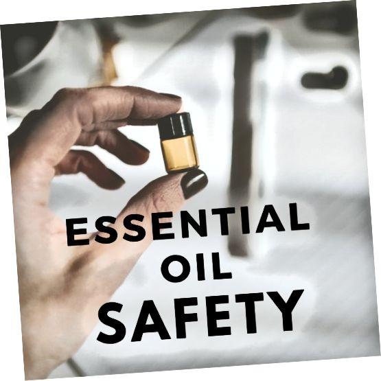 आवश्यक तेल सुरक्षा