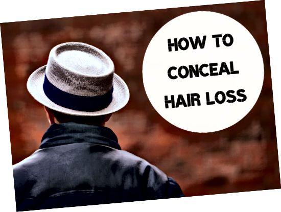 Pridobite devet idej, s katerimi boste izgubo las naredili manj opazno.