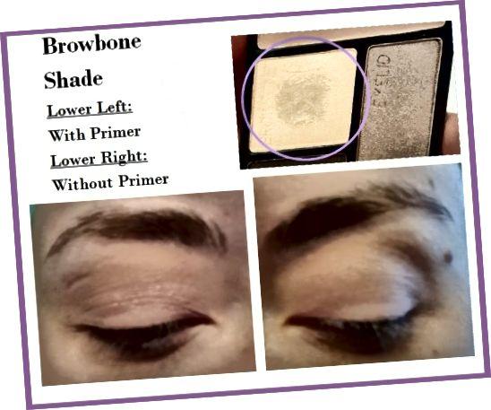 Δείγματα ματιών της σκιάς Browbone από το Wet 'N' Wild Color Icon Quad in Silent Treatment