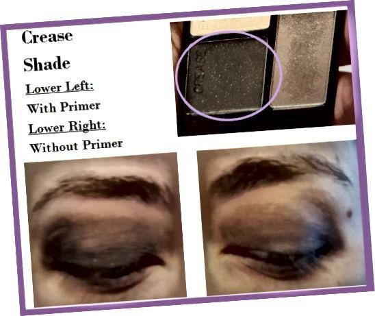 Δείγματα ματιών της σκιάς πτυχής από το Wet 'N' Wild Color Icon Quad in Silent Treatment