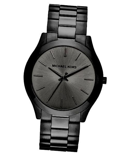 Elegantní štíhlé hodinky Michael Kors jsou ideální pro staršího muže.