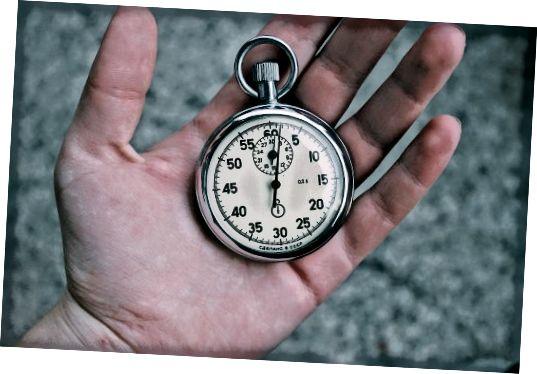 Chronograf, aka jakékoli hodinky s funkcí stopek