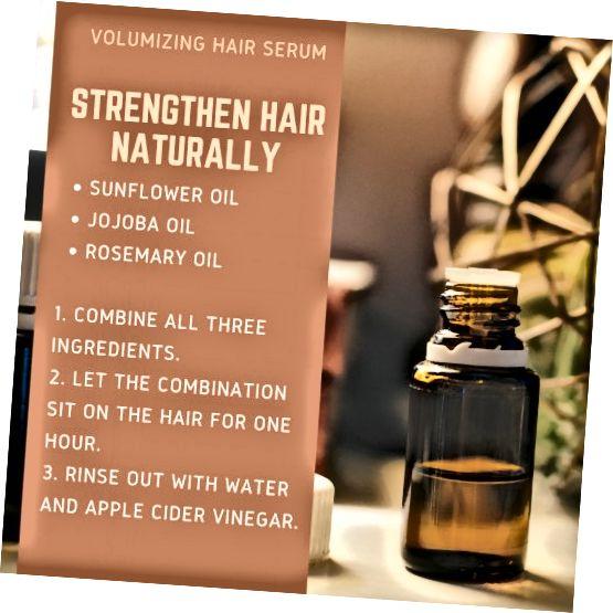 از روغن های طبیعی می توان برای تشویق سلامت مو استفاده کرد. روغنهای اساسی ممکن است گردش پوست سر را افزایش دهند.