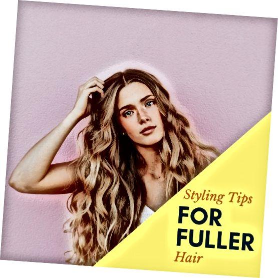 نکات مربوط به یک ظاهر طراحی مو برای حجم اضافه شده.