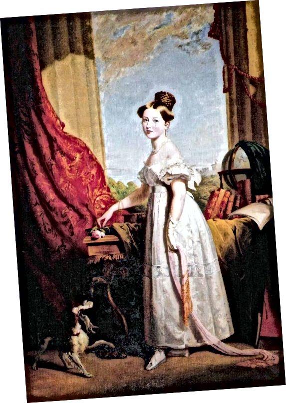 Прынцэса Вікторыя ў 1833 годзе