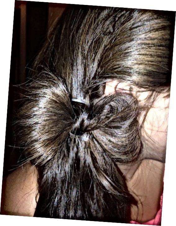 کمان موی جانبی زیبا و دشوار نیست همانطور که انتظار دارید.